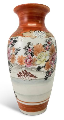 Hand Decorated Kutani Vase (1 of 5)