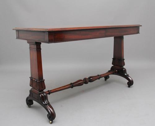 Early 19th Century Mahogany Library Table (1 of 7)