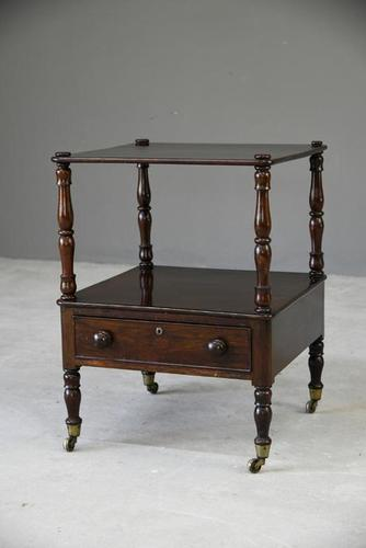 Antique Rosewood Whatnot Nightstand (1 of 10)