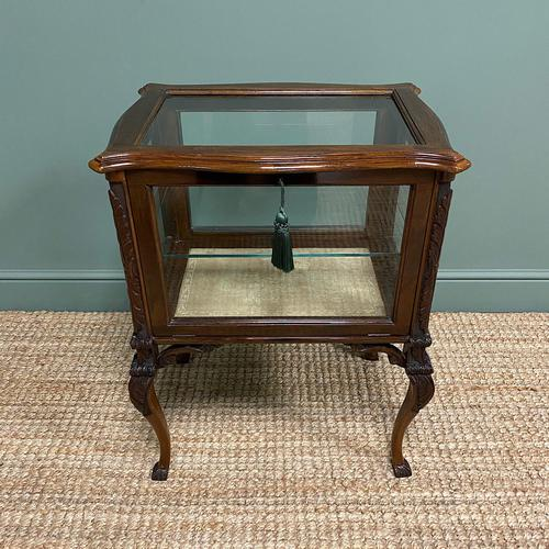 High Quality Victorian Antique Vitrine Display Cabinet (1 of 6)