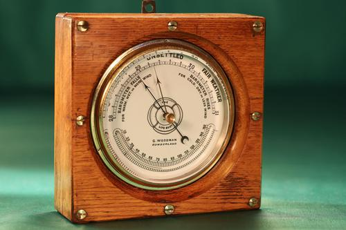 The Life-buoy Marine Barometer by Dollond c.1885 (1 of 7)
