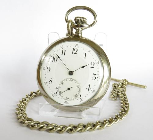 1920s Minerva Pocket Watch & Chain (1 of 5)
