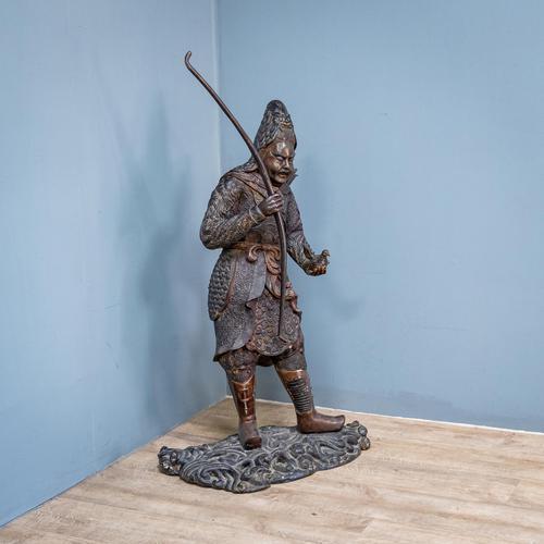 Japanese Bronze Figure (1 of 10)