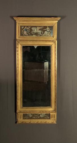 Swedish Gustavian Period Giltwood Pier Mirror (1 of 8)