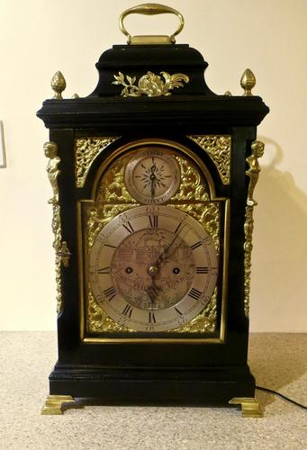 Exceptional 18th Century Verge Bracket Clock – John Pritchard of London (1 of 7)