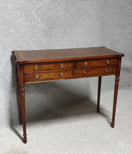 Burr Walnut Side Table (1 of 10)