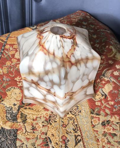 Edwardian Glass Light Shade (1 of 4)