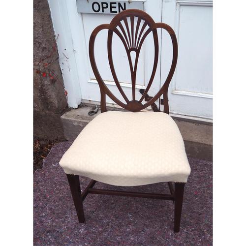 18th Century Hepplewhite Mahogany Single Chair (1 of 5)