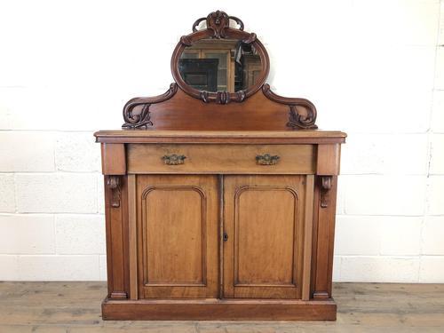 Victorian Mahogany Mirror Back Chiffonier Sideboard (1 of 13)