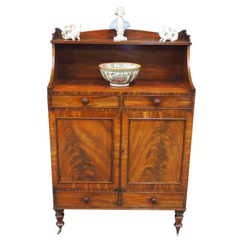 George IV Side Cabinet in Mahogany (1 of 10)