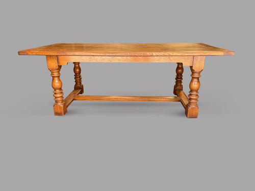 Oak Refectory / Dining Table c.1900 (1 of 5)