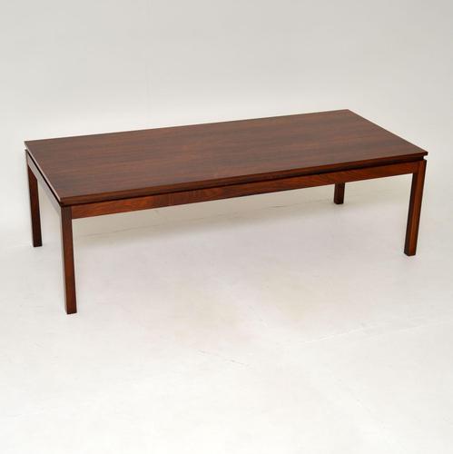 Danish Rosewood Vintage Coffee Table (1 of 9)