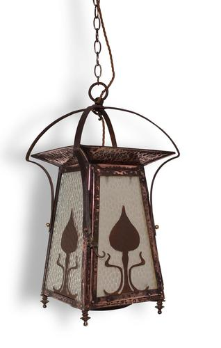English Arts & Crafts Lantern (1 of 5)