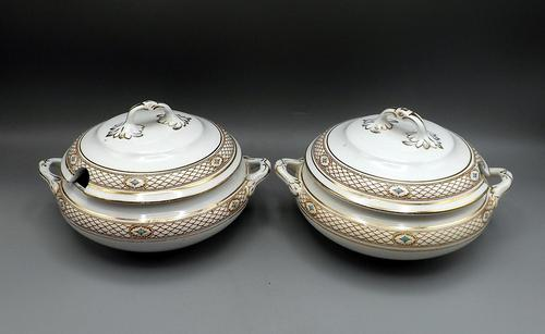 Pair of Early 20th Century Sauce Tureens - 1912-1936 (1 of 6)