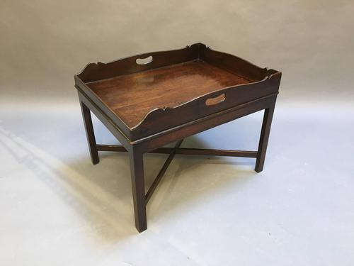 George III  Butlers Tray Table (1 of 10)