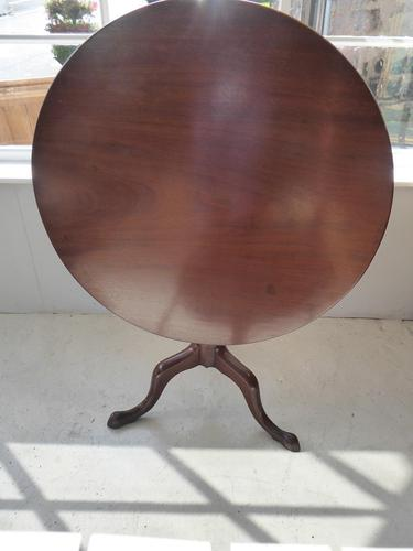 18th Century Round Tilt Table (1 of 5)