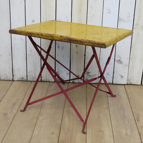 French Bistro Garden Table (1 of 7)