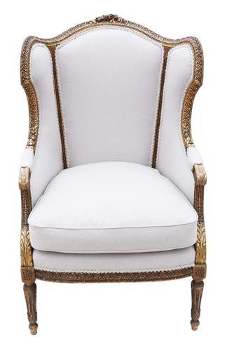 Gilt 19th Century Armchair Chair (1 of 10)