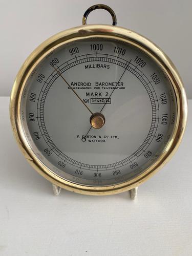 British Met Office Barometer (1 of 3)