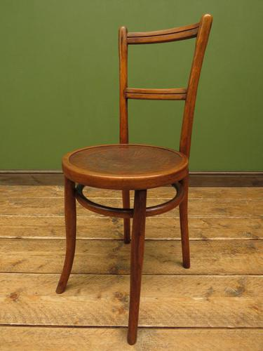 Unusual Antique Bentwood Chair / Office Chair/ Kitchen Chair (1 of 10)