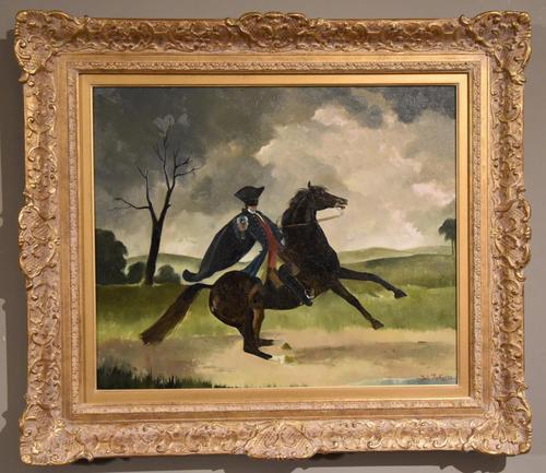 "Oil Painting Doris Zinkeisen ""Dick Turpin"" (1 of 5)"