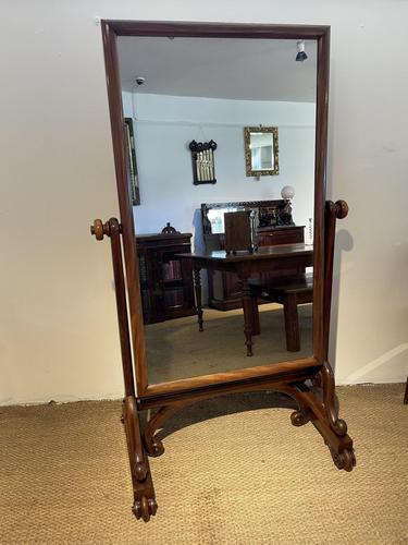 William IV Cheval Mirror (1 of 8)