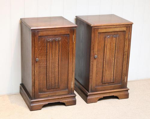 Pair of Oak Bedside Cabinets (1 of 12)