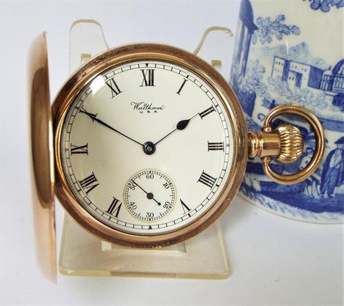 Waltham Full Hunter Pocket Watch, 1924 (1 of 6)