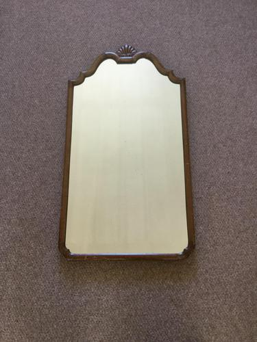 Queen Anne Style Wall Mirror (1 of 2)