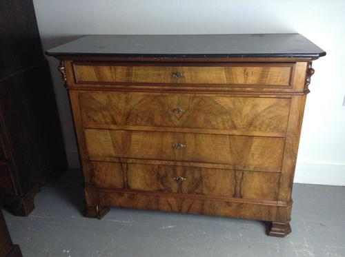 Walnut Chest of Drawers (1 of 2)