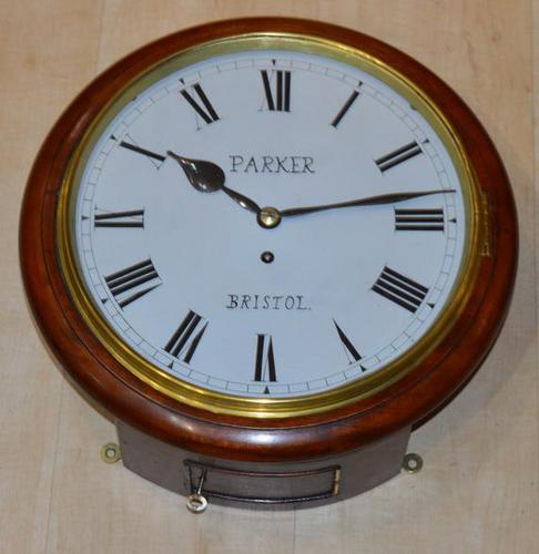 Parker Bristol Fusee Dial Wall Clock (1 of 4)