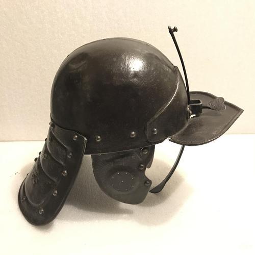 English Civil war New Army Lobster pot Helmet (1 of 10)