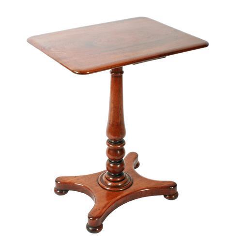 Victorian Mahogany Lamp Table (1 of 7)