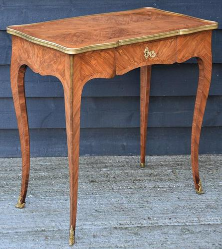 Exceptional Quality 19th Century French Kingwood Writing Table/ Lamp Table/ Centre Table. (1 of 15)