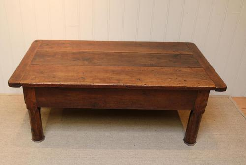 Substantial Early 19th Century French Oak Low Table (1 of 9)