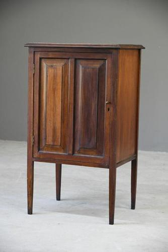 Edwardian Walnut Cabinet (1 of 8)