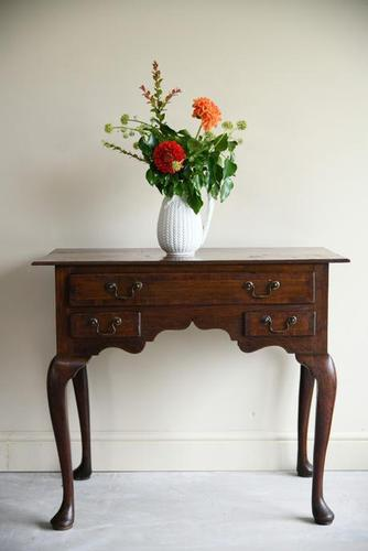 Antique Oak Lowboy (1 of 10)