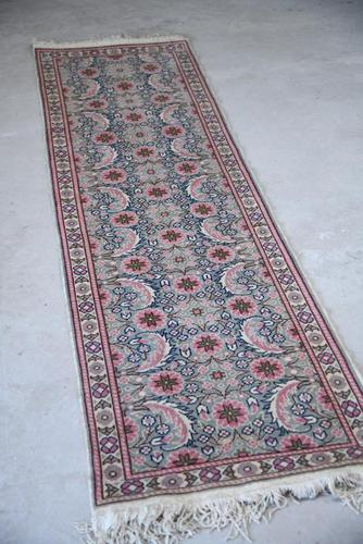 Pink Floral Eastern Wool Runner (1 of 12)
