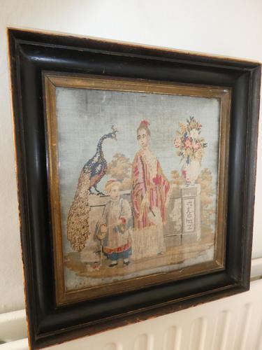 19th Century Oriental Scene Needlepoint (1 of 9)