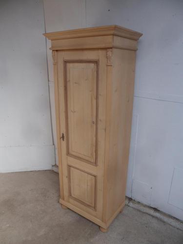 Mint Clean Antique Pine 1 Door Multi Functional Cupboard to wax / paint (1 of 10)
