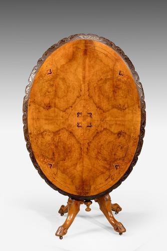 Mid 19th Century Walnut Table (1 of 5)