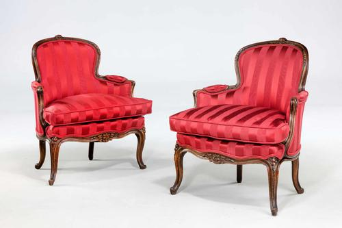 Pair of 19th Century Fauteuils (1 of 5)