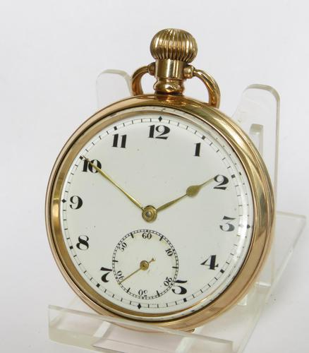 Vintage 1920s Bernex stem winding pocket watch (1 of 5)