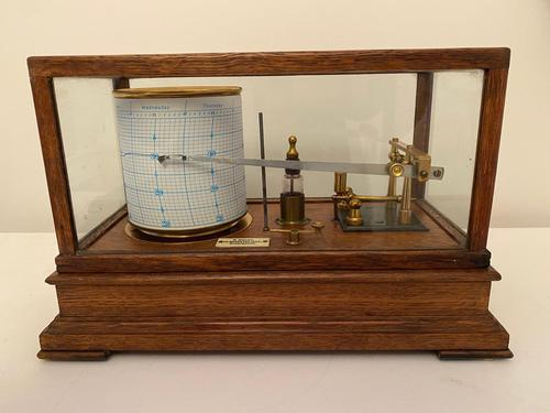 Barograph by Bailey, Birmingham (1 of 4)