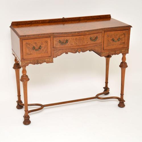 Antique Burr Walnut  Server / Side Table (1 of 11)