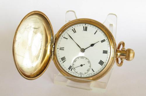 1920s Consul Full Hunter Pocket Watch (1 of 6)