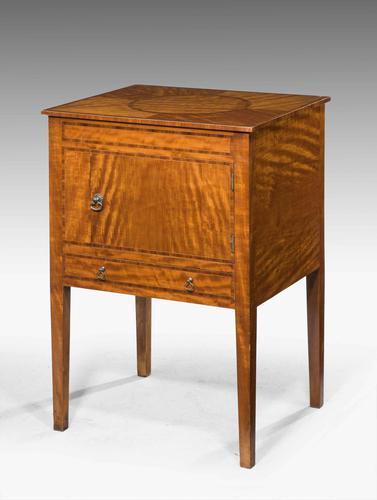 19th Century Satinwood Cupboard (1 of 5)