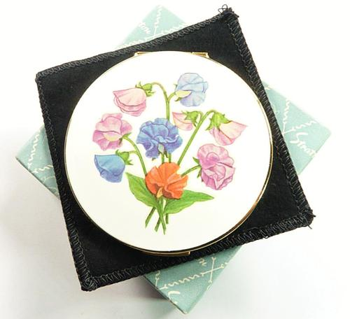 Beautiful Unused Stratton Loose Powder Compact (1 of 7)