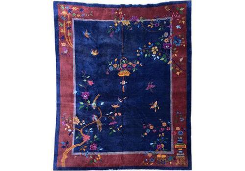Antique Chinese Art Deco Carpet (1 of 14)
