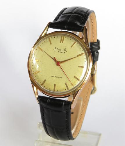 Gents 1950s Stabilo Wrist Watch (1 of 5)